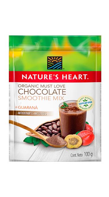 Organic Smoothie Mix Must Love Chocolate 100 g