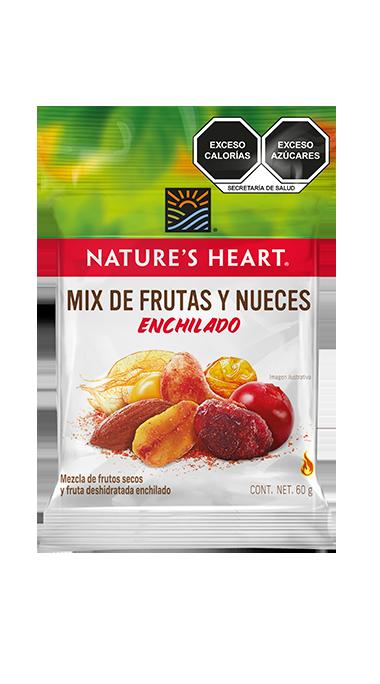Mix de Frutas y Nueces Enchilado sin azúcar 60 g