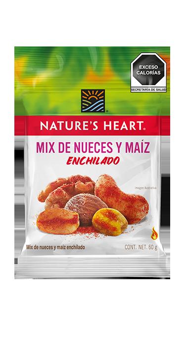Mix de Nueces y Maíz Enchilado sin azúcar 60 g