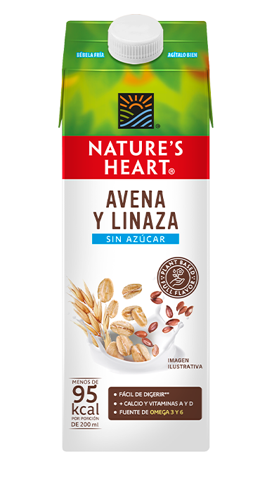 Bebida de Avena + Linaza sin azúcar 946 ml